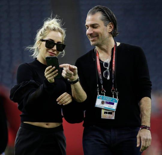 Lady Gaga y Christian Carino.