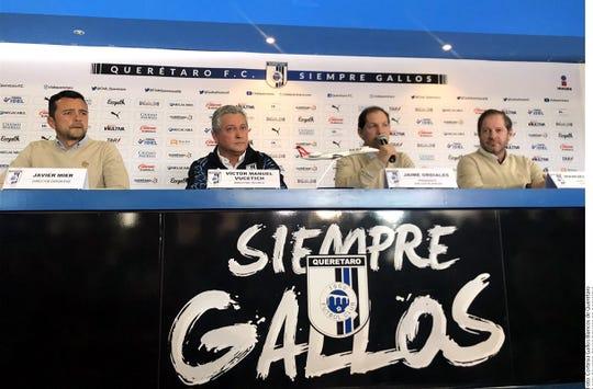 Vucetich es presentado como nuevo D.T. del Querétaro.