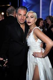 Christian Carino y Lady Gaga.