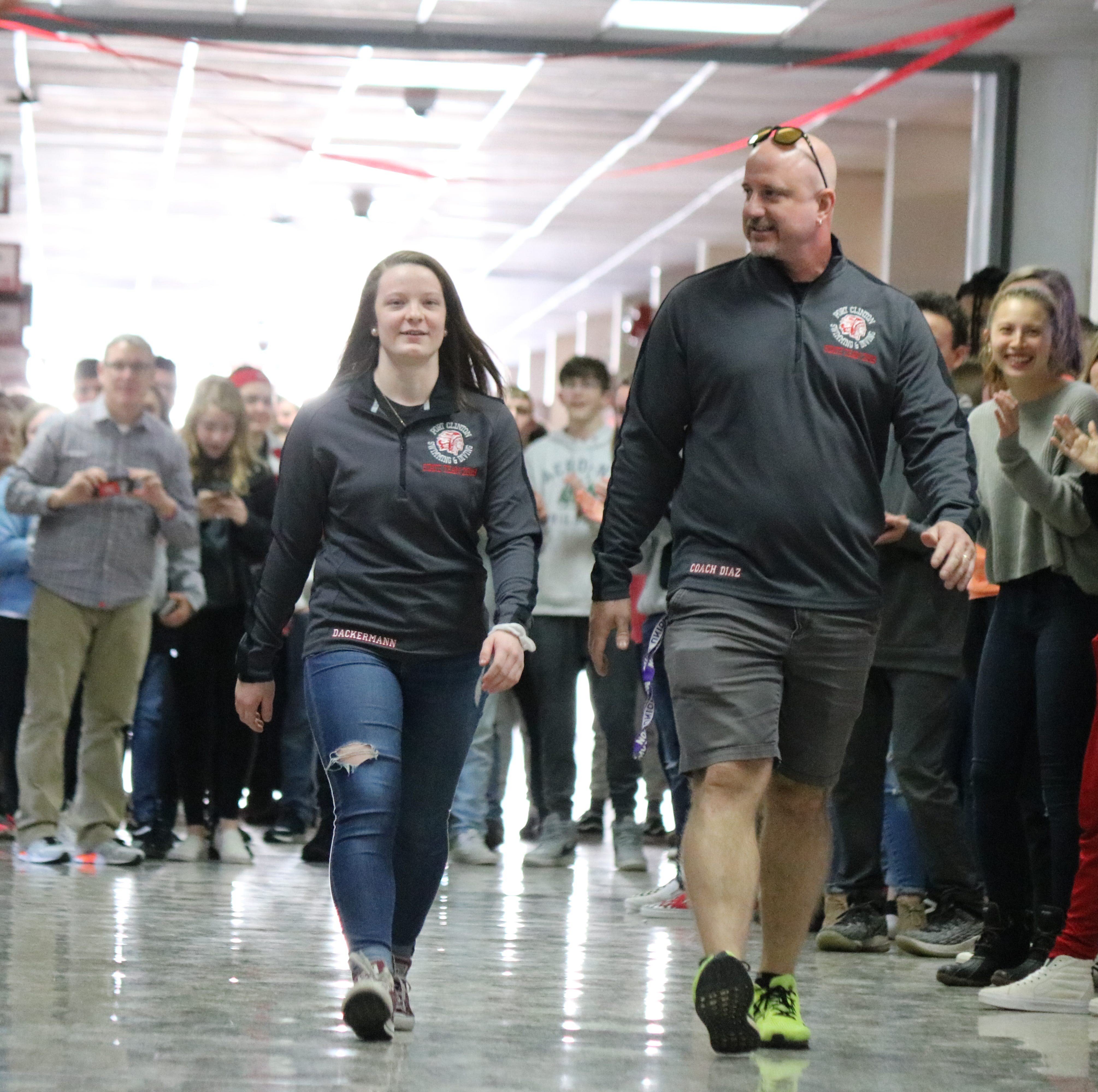 PCHS sends off Dackermann to state diving championship in style