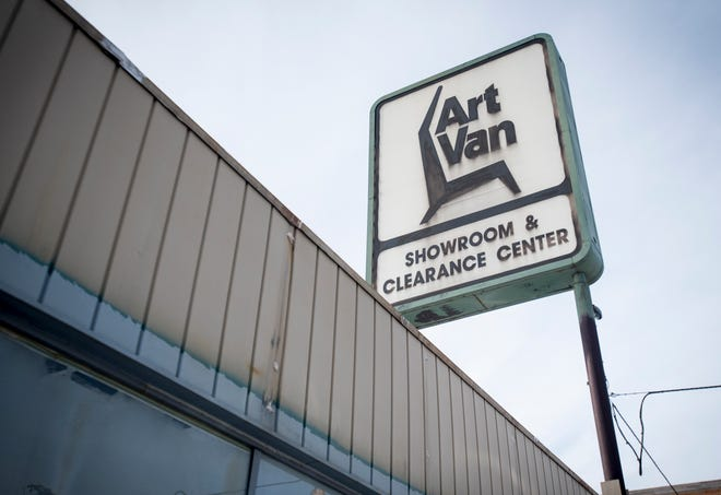 The former Art Van building, 318 Grand River Ave., in downtown Port Huron has been owned by St. Clair County for six years. This month, the county board OK'd a $350,000 purchase deal with developer Larry Jones to revitalize the property.
