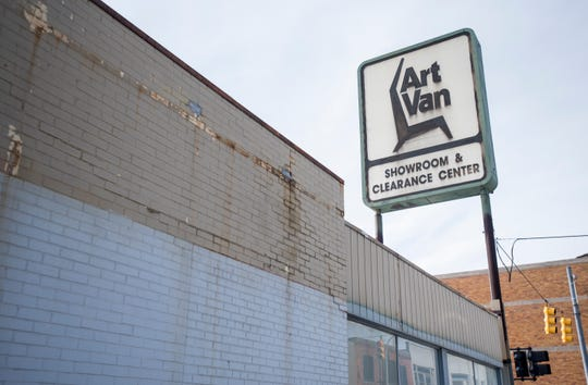 The city of Port Huron is moving forward with finding funding to redevelop the former Art Van building downtown with a much more scaled-down proposal for an open-air marketplace than unveiled last fall.