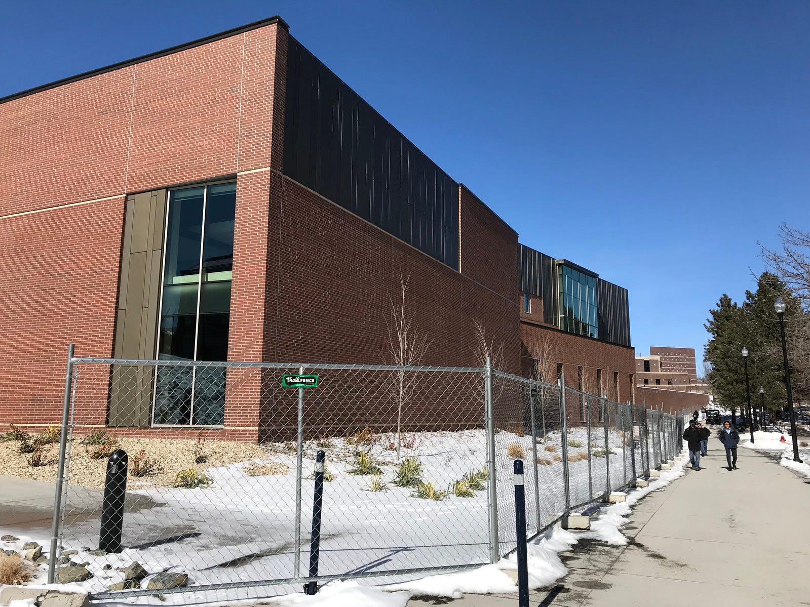 The new University Arts Building on the campus of the University of Nevada, Reno on Feb. 19, 2019.