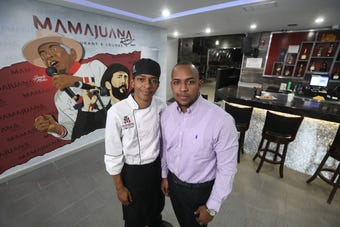 Two brothers in their 20s, immigrants from the Dominican Republic, have teamed up on a Dominican fusion restaurant on Clifford Avenue.