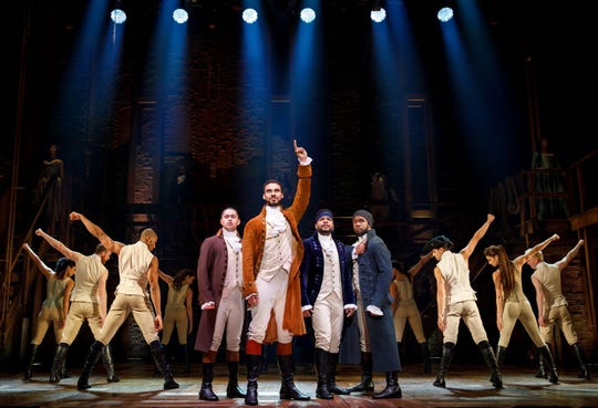 A scene from a past tour of 'Hamilton.'