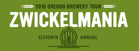 The eleventh annualZwickelmania, a celebration ofOregon's craftbeers and breweries,happens Saturday, Feb. 23. More than 120 breweries across the state will participate, including several in the Salem area.