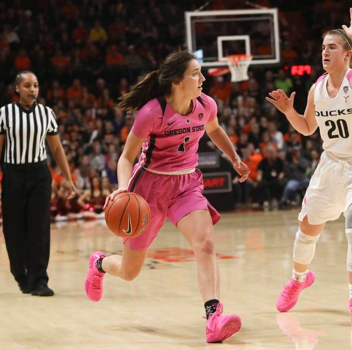 Could Oregon and Oregon State women both play in NCAA Sweet 16 in Portland?