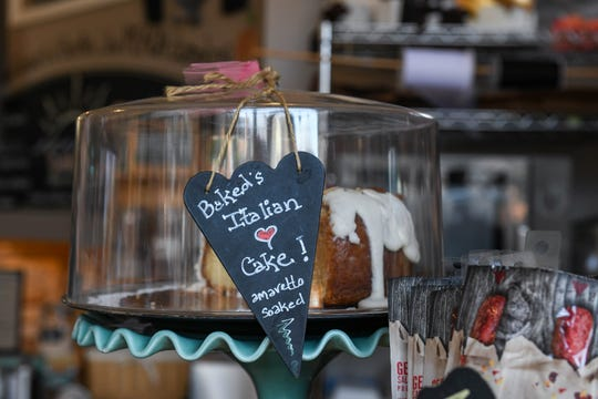 Baked Dessert Cafe owner Robin Tomaselli said the potential minimum wage raise could impact her downtown Berlin business on Tuesday, Feb. 19, 2019.