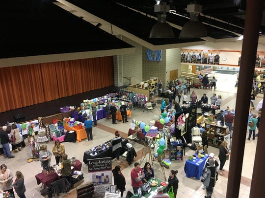 The March into Spring Vendor Show will be held on March 23 in the Middle School commons area.