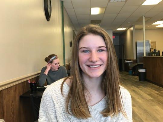 Rachel Murie, Wilson Memorial sophomore