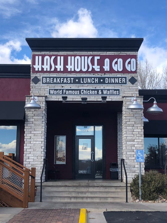 The entrance to Hash House A Go Go in St. George.