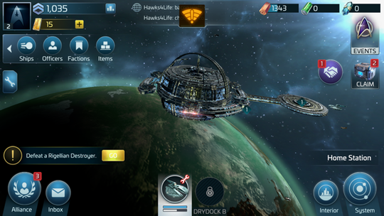A mobile strategy game set in a universe and populated by characters that millions of people are familiar with, Star Trek Space Command casts the player as an unaligned captain operating on the fringes of space.