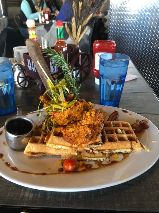 The Andy's World Famous Sage Fried Chicken at Hash House A Go Go in St. George.