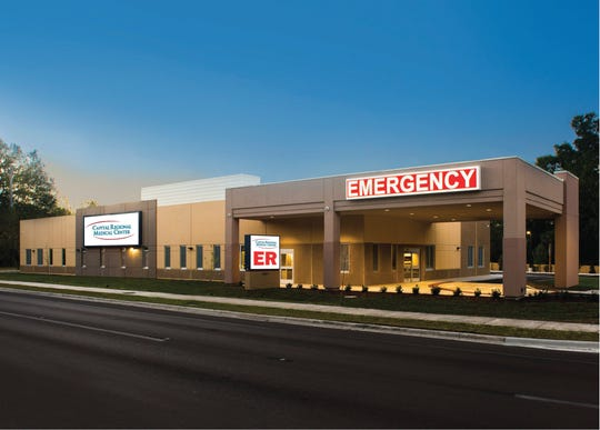 Capital Regional Medical Center plans to build two free-standing emergency room facilities, one in Southwood and the other in the Lake Jackson area on North Monroe Street.