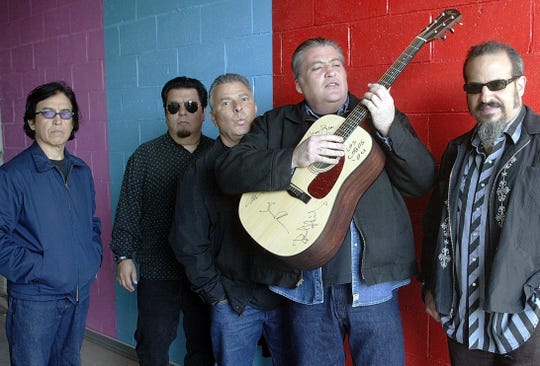 Los Lobos pull into The Moon for a show on Wednesday.