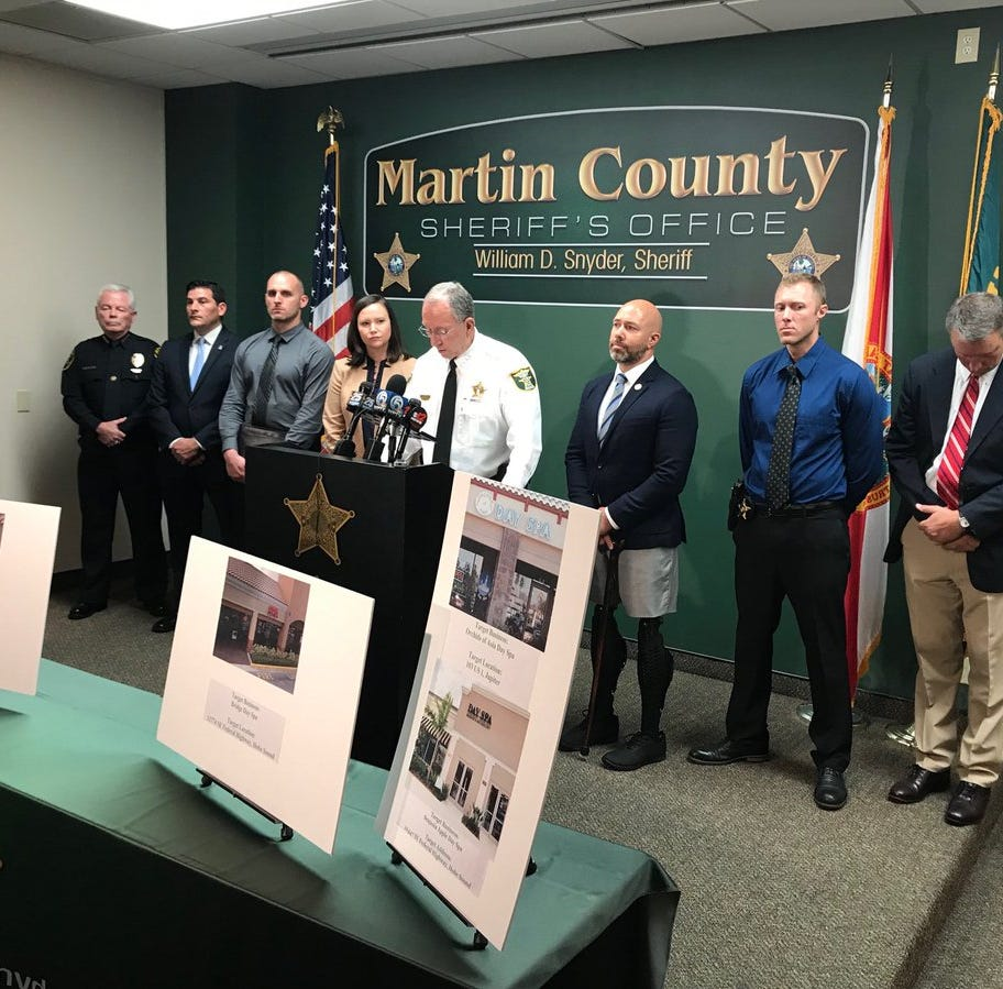 Large human trafficking ring busted in Martin County