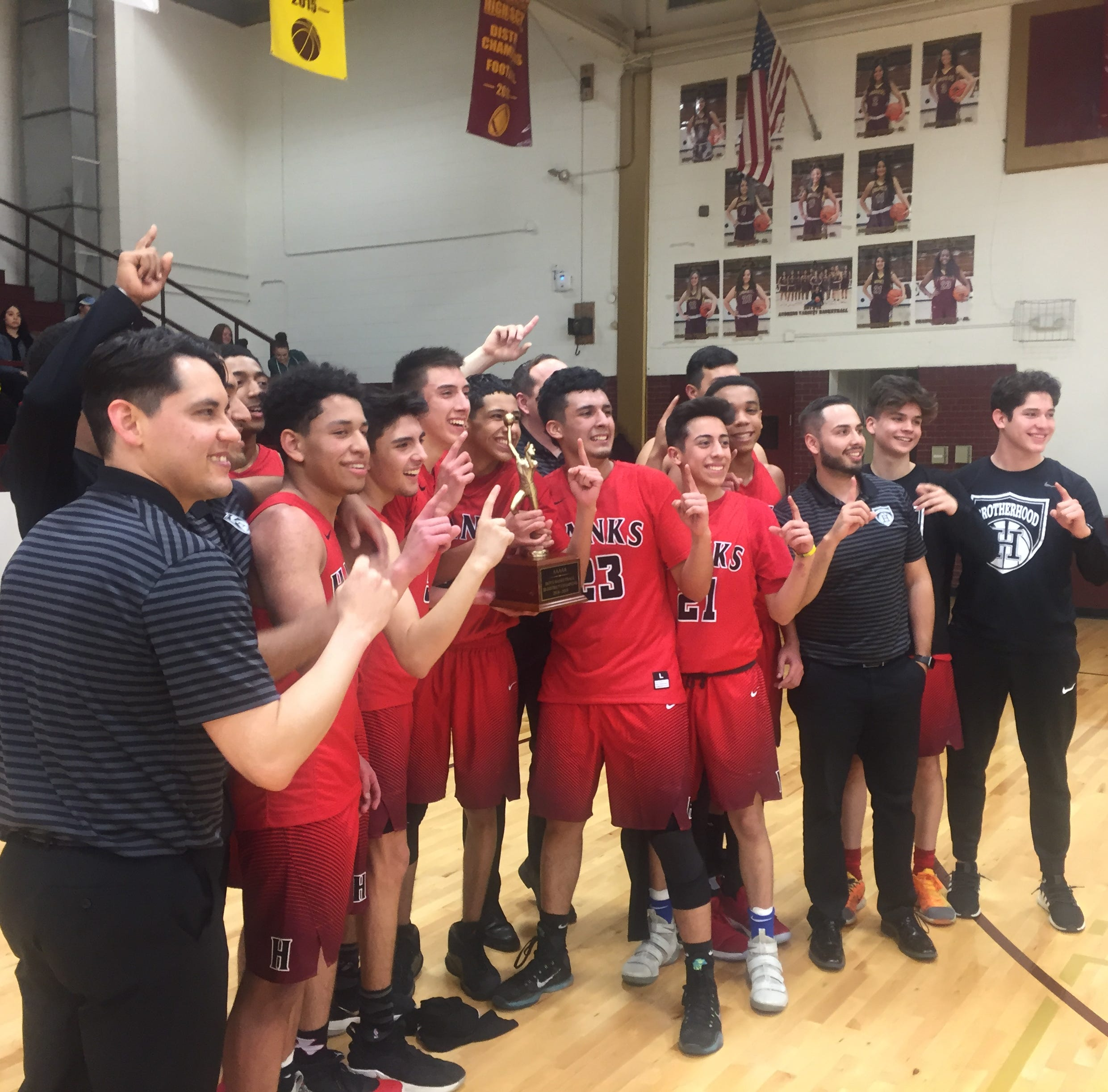 Hanks knocks off Andress in double overtime in 5A boys basketball playoffs