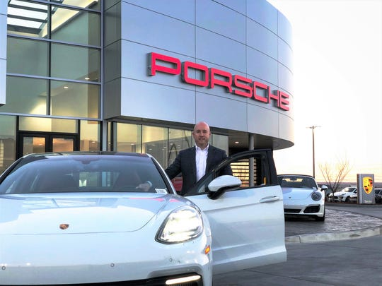 Jeff Pester, general manager of Group 1 Automotive's new Porsche dealership at 6421 S. Desert Blvd., said sales have been very good at the dealership, which opened Jan. 11, in far West El Paso.
