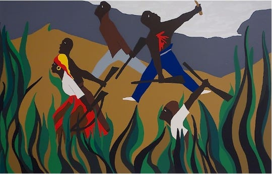 'To Preserve Their Freedom' by Jacob Lawrence