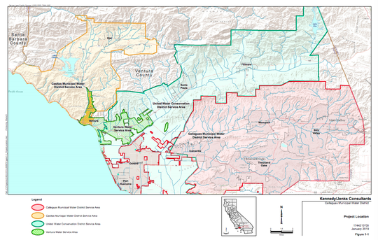 A look at who's involved in Ventura's State Water Interconnection Project.