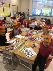 Students at Petway Elementary School had fun celebrating the 100th day of school.