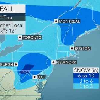 Weather: Snow could slow Wednesday commute home