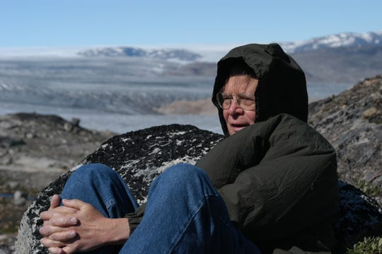 Wallace Broecker during a research trip to Greenland.