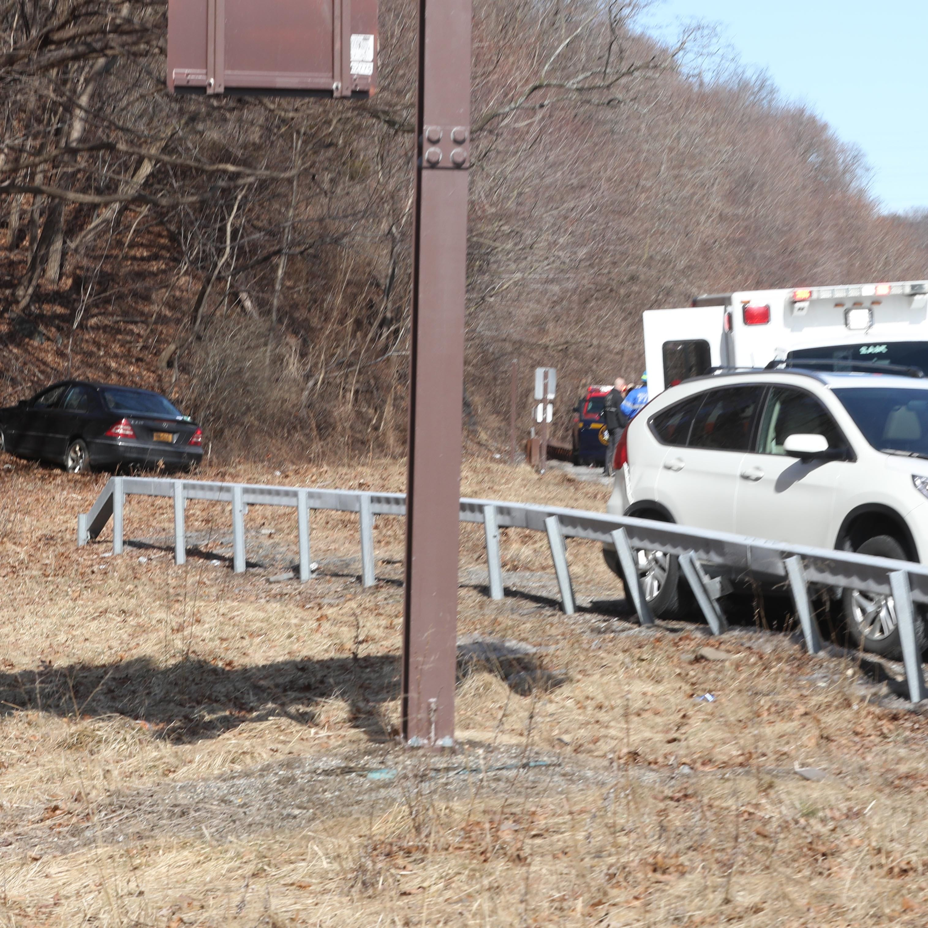 Wrong-way driver crashes on Taconic State Parkway