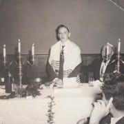 Arthur Plotnik's Bar Mitzvah reception at the old Gordon's Delicatessen in White Plains