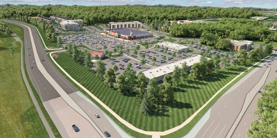 Pettinaro unveiled plans to redevelop Barley Mill Plaza in Greenville with retail shops, office space and residences Tuesday.
