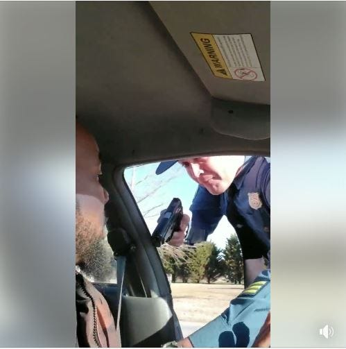 Video shows Delaware State Police trooper pulling gun on man during stop