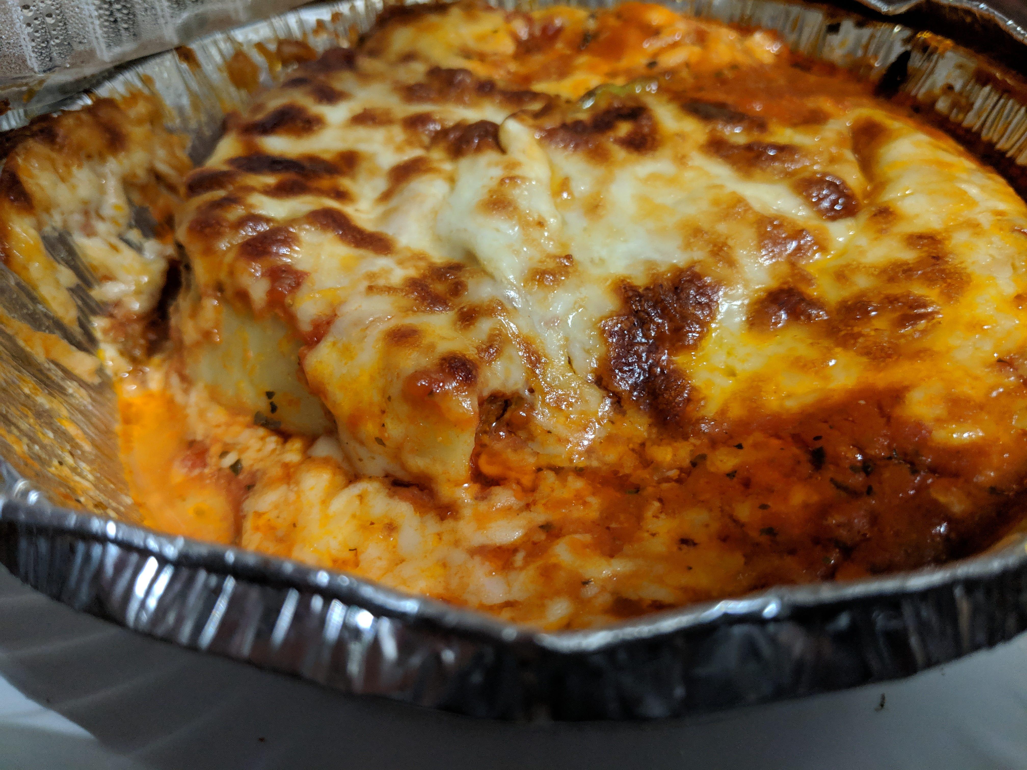 Pasta sampler at Napoli's Italian Restaurant.