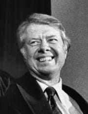 President Jimmy Carter was widely known as the peanut farmer from Georgia.