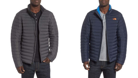 Upgrade your winter coat to one that keeps you warm and dry.