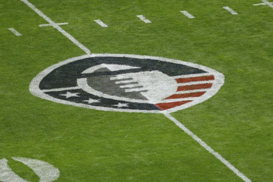 AAF field logo before.