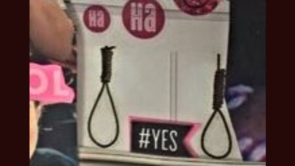 3 teachers on leave following display of noose images labeled 'back to school necklaces'