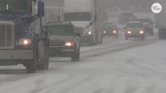 Snow, sleet, heavy rain hits every state east of the Mississippi River