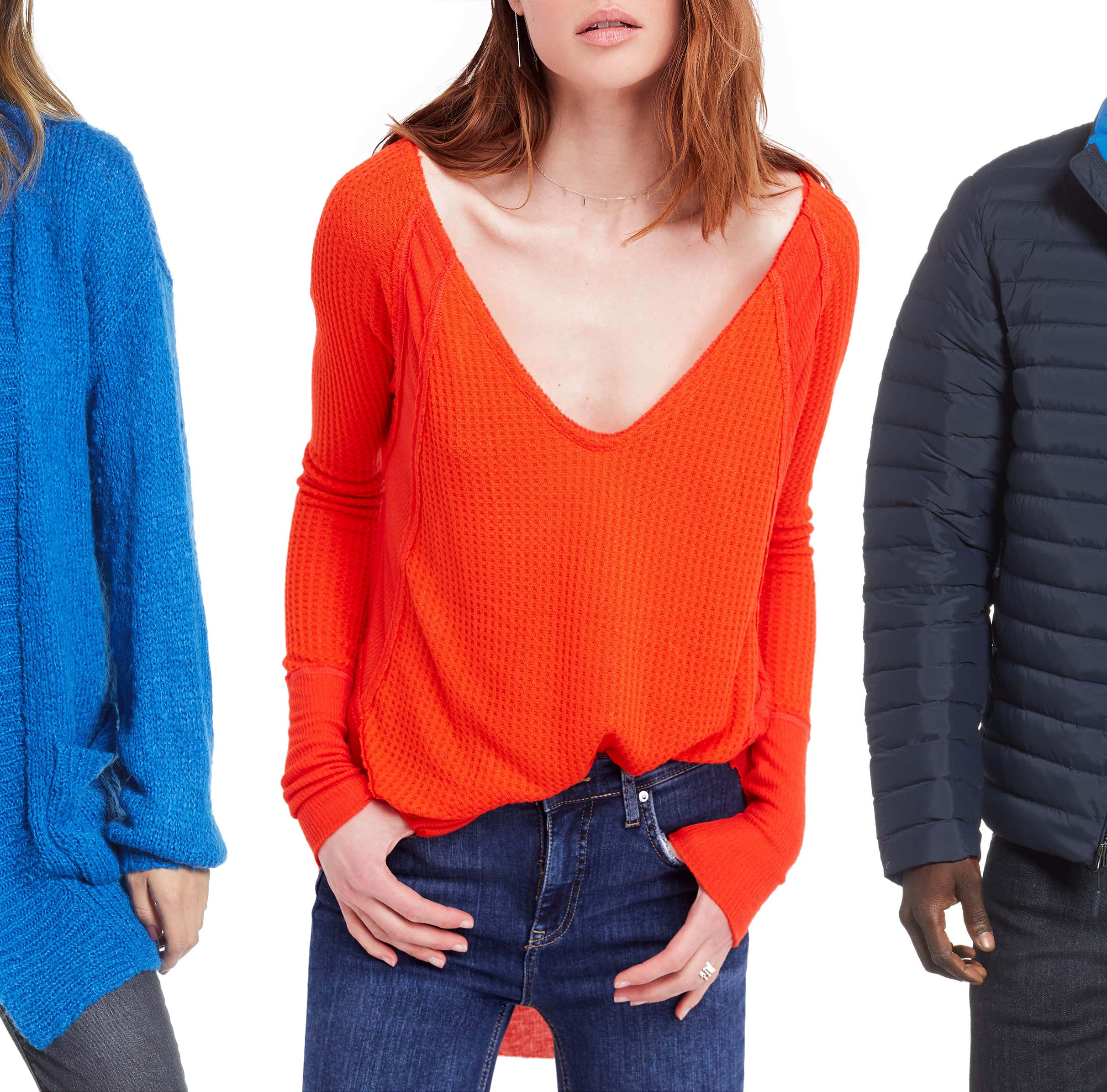 Nordstrom's annual Winter Sale is the perfect time to stock up on cozy sweater, jackets, and more.