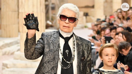 Fashion designer Karl Lagerfeld, creative director for Chanel and Fendi, dies