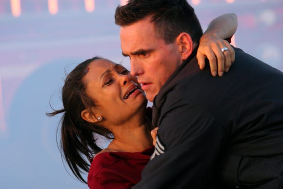 """Thandie Newton and Matt Dillon cross paths for a second time in an emotional scene from """"Crash."""""""