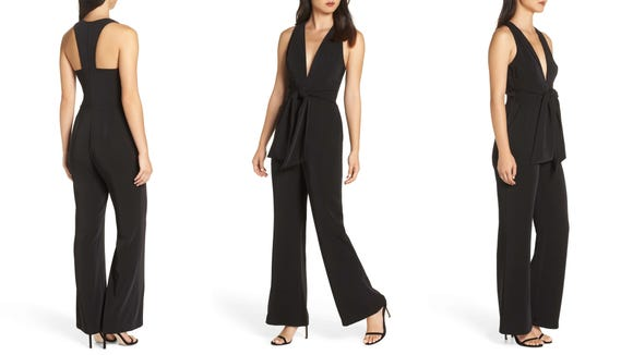This jumpsuit is perfect for work (pair it with a blazer) or a night out.