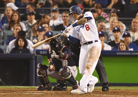 Manny Machado hit 37 home runs and drove in a career-high 107 runs last season with the Baltimore Orioles and Los Angeles Dodgers.