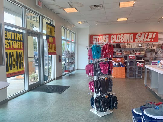 All sales are final at Payless ShoeSource's liquidation.