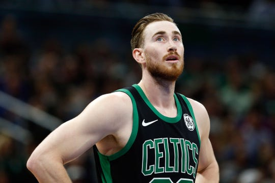 Boston Celtics forward Gordon Hayward.