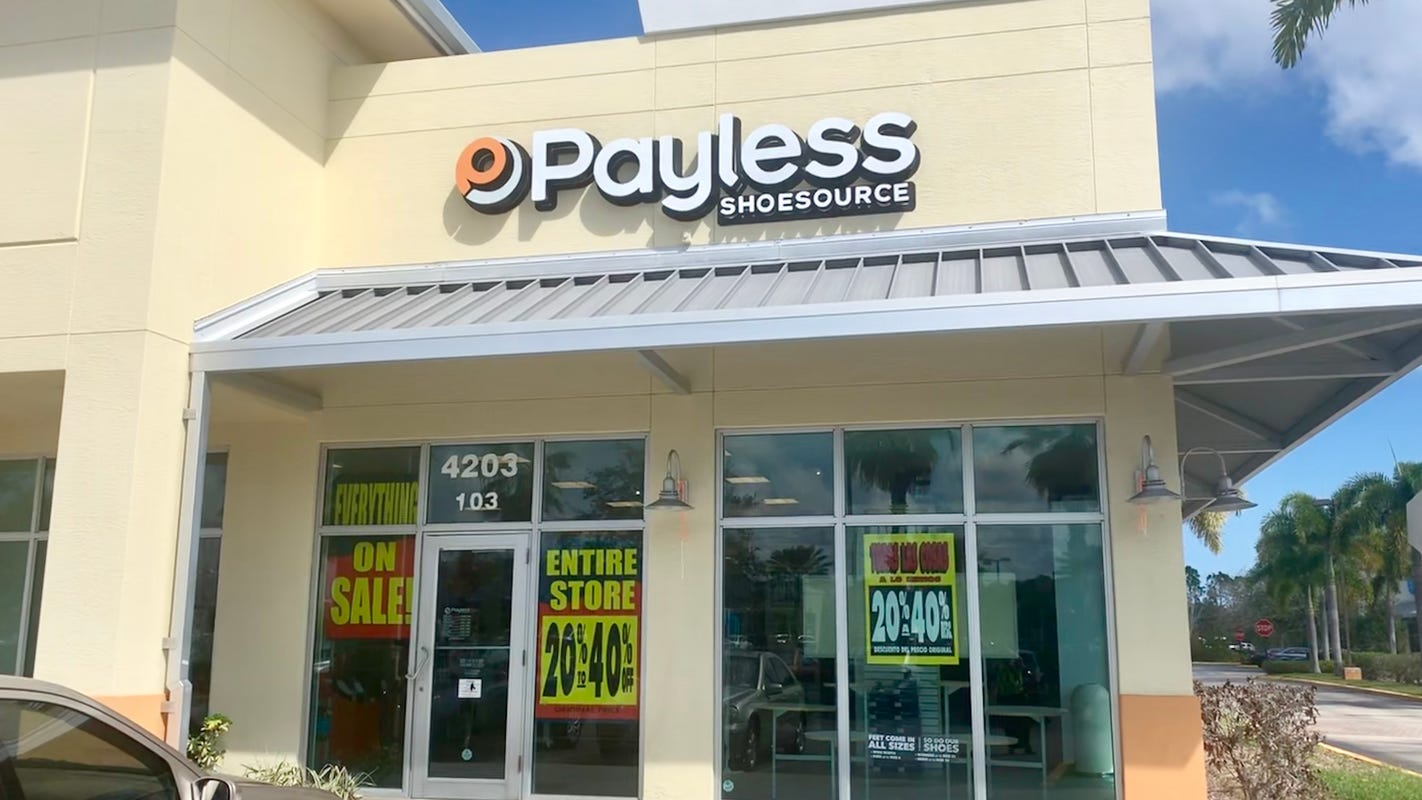 74d8849a217 Payless closing 2019: List of stores going out of business this month