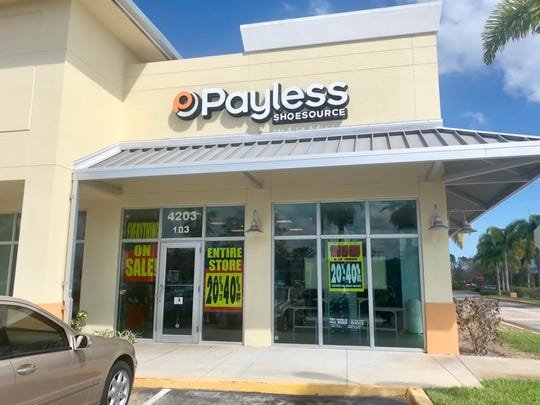 Payless ShoeSource started liquidation sales nationwide Feb. 17. Some stores will close in March and the rest will close in May.