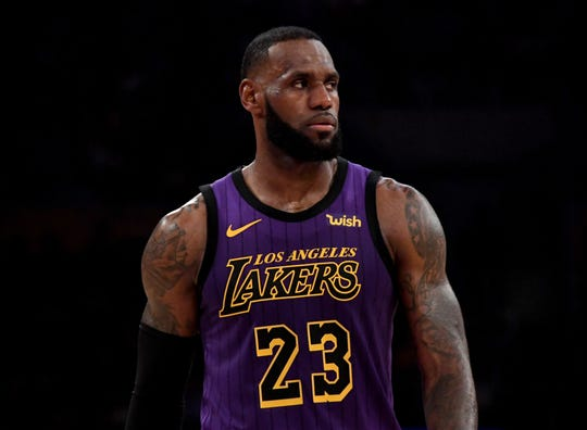 NBA power rankings: LeBron, Lakers in serious danger of missing playoffs