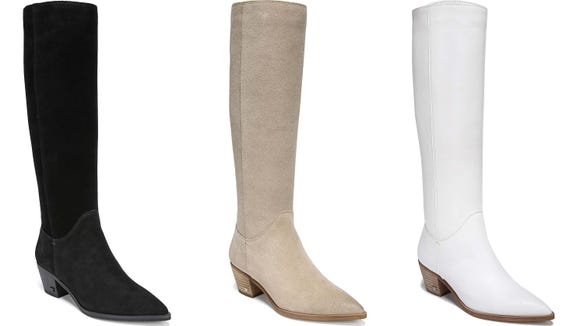 Everyone should have at least one good pair of knee-high boots in their closet.