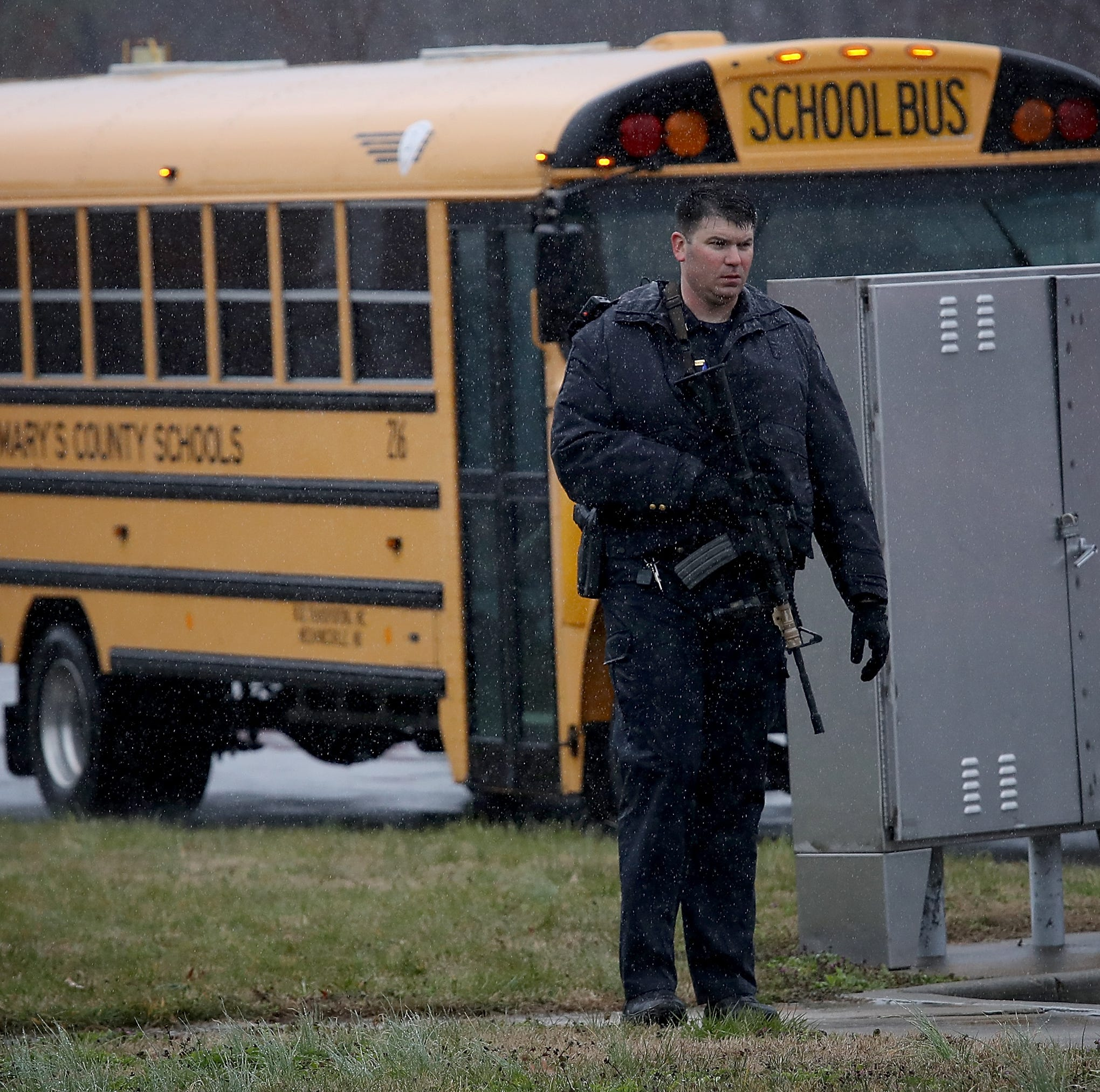 Military-style guards with guns in schools across the nation wouldn't protect students