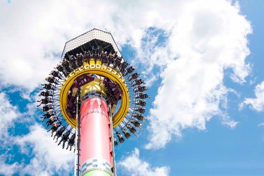 Kings Island Drop Tower
